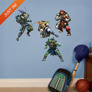 Small TMNT Fathead Vinyl Wall Decal Collection