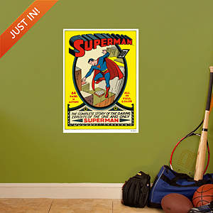 Superman #1 Cover Fathead Wall Decal