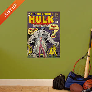 The Incredible Hulk #1 Cover Fathead Wall Decal