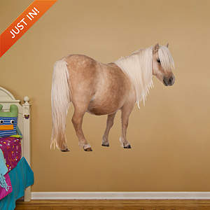 Shetland Pony Fathead Wall Decal