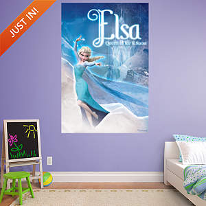 Snow Queen Elsa Mural Fathead Wall Decal