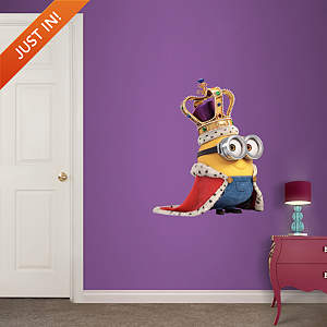 Minions King Bob Fathead Wall Decal
