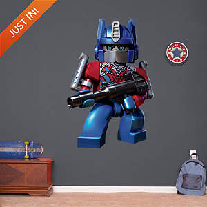 Optimus Prime - KRE-O Fathead Wall Decal