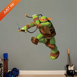 Michelangelo Fathead Wall Decal