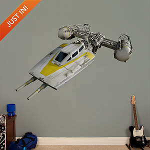 Y Wing Starfighter Fathead Wall Decal