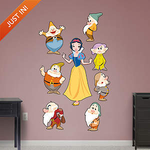 Snow White and 7 Dwarfs - Classic Tales Collection Fathead Wall Decal