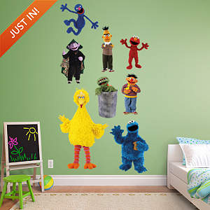 Sesame Street Collection Fathead Wall Decal