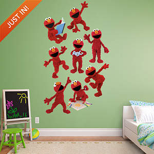 Elmo Collection Fathead Wall Decal