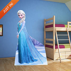Life-Size Snow Queen Elsa Stand Out cut out from Fathead