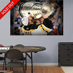 Tim Thomas - Stanley Cup Mural Fathead Wall Decal