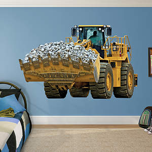 Cat Wheel Loader Fathead Wall Decal