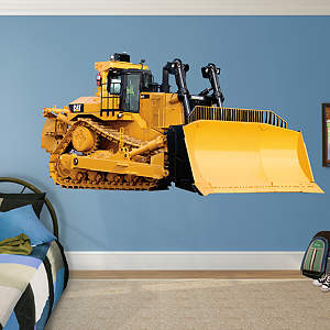 Cat Dozer Fathead Wall Decal