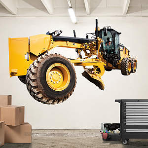 Cat Grader Fathead Wall Decal