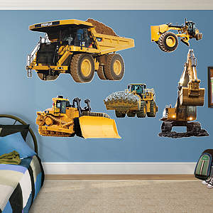Cat Machines Collection  Fathead Wall Decal