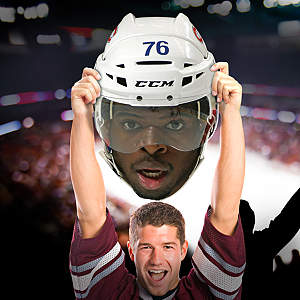 P.K. Subban Big Head Cut Out