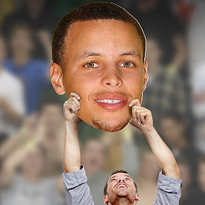 Stephen Curry Big Head Cut Out