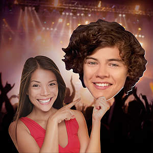 Harry Styles: One Direction Big Head Cut Out