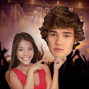 Liam Payne: One Direction Big Head Cut Out