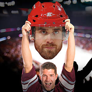 Henrik Zetterberg Big Head Cut Out