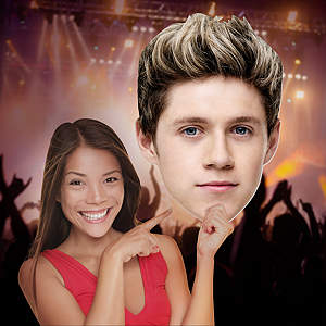 Niall Horan 1D Big Head Cut Out