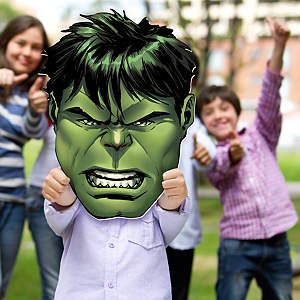 Incredible Hulk Big Head Cut Out