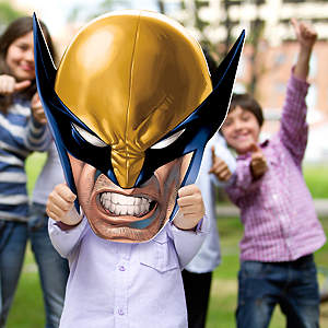 Wolverine Big Head Cut Out
