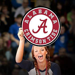 Alabama Crimson Tide Logo Big Head Cut Out