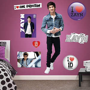 Zayn Malik: 1D Fathead Wall Decal
