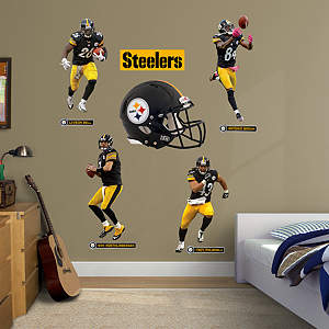 Pittsburgh Steelers Power Pack Fathead Wall Decal