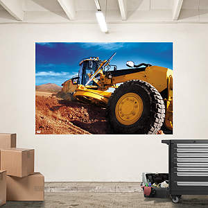 Cat Grader Mural Fathead Wall Decal