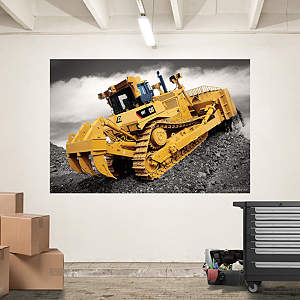 Cat Dozer Mural Fathead Wall Decal