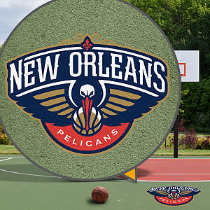 New Orleans Pelicans Street Grip Outdoor Graphic