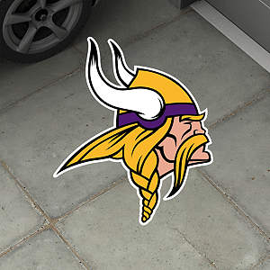 Minnesota Vikings Street Grip Outdoor Graphic