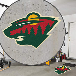 Minnesota Wild Street Grip Outdoor Graphic