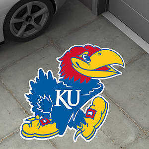 Kansas Jayhawks Street Grip Outdoor Graphic