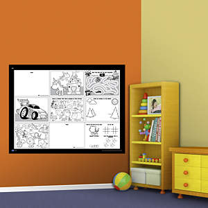 Dry Erase Activity Board Fathead Wall Decal