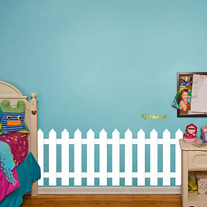 Picket Fence Fathead Wall Decal