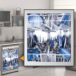 Dishes: Dishwasher Skin Fathead Wall Decal