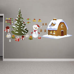 Holiday Decoration Collection Fathead Wall Decal