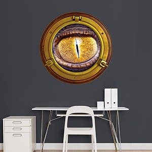 Monster Eye: Porthole Fathead Wall Decal
