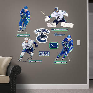 Vancouver Canucks Power Pack Fathead Wall Decal