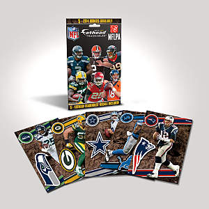 2014 NFL Tradeables Single Pack Fathead Decal
