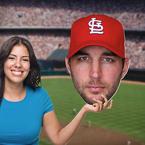 Adam Wainwright Big Head Cut Out