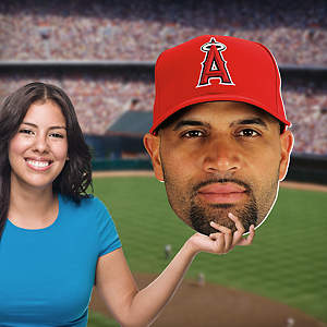 Albert Pujols Big Head Cut Out
