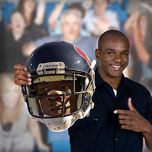 Andre Johnson Game Day Big Head Cut Out