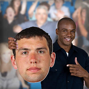 Andrew Luck Big Head  Cut Out
