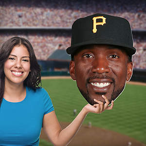 Andrew McCutchen Big Head Cut Out