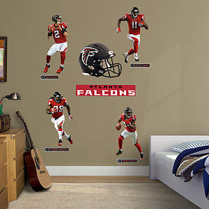 Atlanta Falcons Power Pack Fathead Wall Decal
