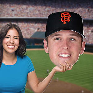 Buster Posey Big Head Cut Out