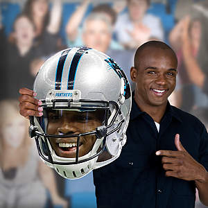 Cam Newton Game Day Big Head Cut Out